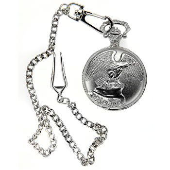 Eagle Engraved Pocket Watch