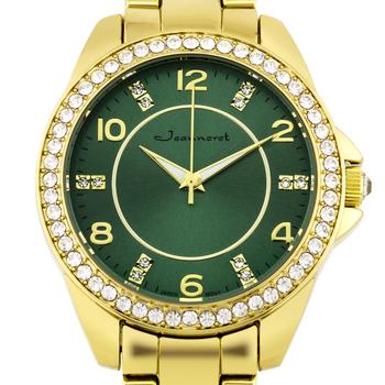 Elegant Crystal Bezel Ladies Watch