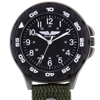 Functional Nylon Clip On Watch