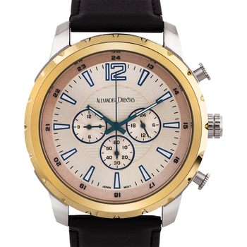 Leather Strap Men's Multi-Function Watch
