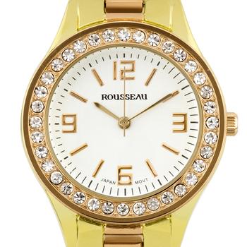 Luxury Crystal Bezel Ladies Watch