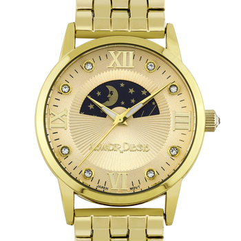 Luxury Moon Phase Dial Ladies Watch