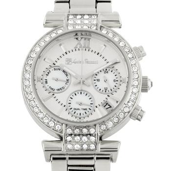 Luxury Multi-Function Swarovski Crystal Bezel Ladies Watch