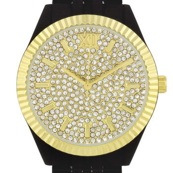Swarovski Crystal Embedded Dial Ladies Watch