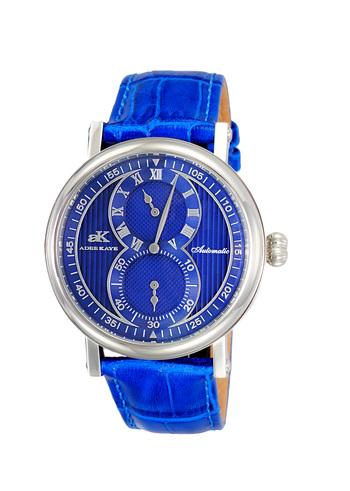 20-Jewels TY2708  Automatic Regulator Movement , Genuine leather band, AK5665-MBU - Retail price at $600.00