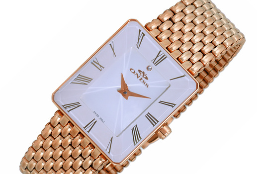 SWISS MOVEMENT, FACETED CRYSTAL ACCENT, ON4242-34_LRGWT - RETAIL AT (MSRP: $425.00)