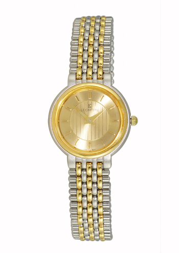 Stainless Steel,2-tone Gold Dial, LC1295-2TG