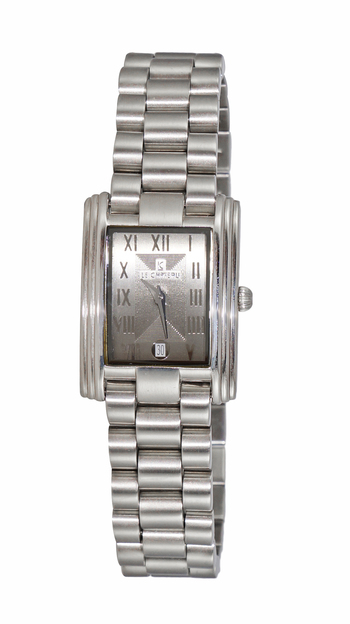 Stainless Steel, Silver tone,  Grey Dial, LC2615-LGY