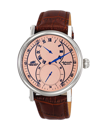 Men's 20-Jewels TY2708  Automatic Regulator Movement , Genuine leather band, AK5665-MSAL_BN- Retail Price at $600.00