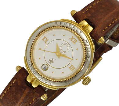 LECHATEAU LADIES  DAY-DATE DIAL, LCPL-CBJGF, RETAIL AT $299.00.