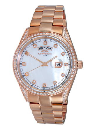 AUSTRIAN CRYSTAL ACCENT, MOTHER OF [EARL DIAL,  ON3882-RGWT -  RETAIL  AT $ 375.00