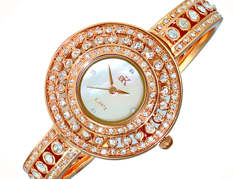 AUSTRIAN CRYSTAL ACCENT, MOTHER OF PEARL, AK9116-LRG, RETAIL AT (MSRP: $370.00)