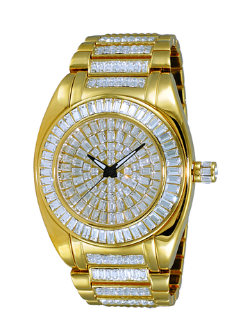 AUSTRIAN CRYSTAL ACCENT, RHODIUM PLATED GOLD TONE, AK6175-MG, RETAIL AT $495.00