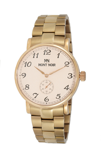 AUTOMATIC 20 JEWELS MOVEMENT, MINERAL CRYSTAL, STAINLESS STEEL BAND, MN9061-MBRG/RG, RETAIL AT $695.00