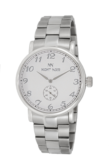 AUTOMATIC 20 JEWELS MOVEMENT, MINERAL CRYSTAL, STAINLESS STEEL BAND, MN9061-MBSV, RETAIL AT $695.00