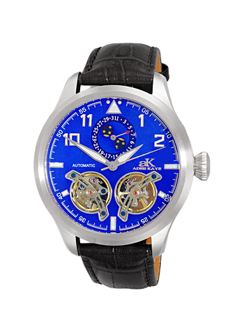 Automatic - 45 Jewels  JHLS515 double barrel,Moon Phase ,  AK5663-MBKU , RETAIL AT $800.00