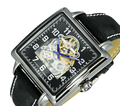 AUTOMATIC MOVEMENT, SKELETON DIAL, AK8022-MIPB - RETAL AT $500.00