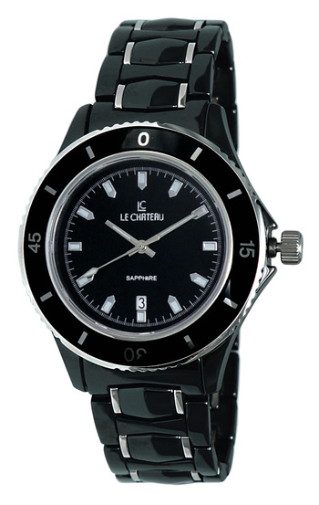 Black High-Tech Ceramic, (Brand New) LC-5869_BK - RETAIL at  $390.00