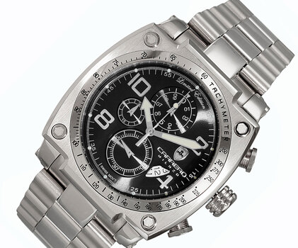 Chronograph -Date Dial, with Function Pushers, C1S555BK