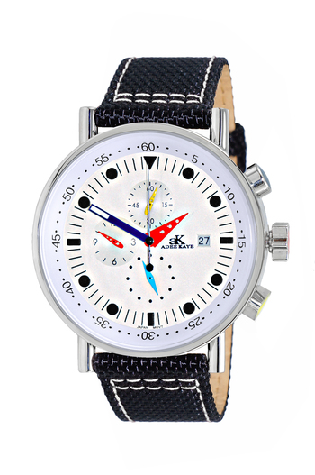 CHRONOGRAPH MOVEMENT, MULTI- COLOR HANDS , AK2267-50_YEL - RETAIL AT $600.00
