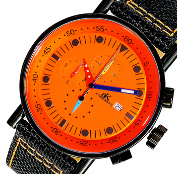 CHRONOGRAPH MOVEMENT, MULTI- COLOR HANDS , AK2267-80 IPBOR - RETAIL AT $600.00