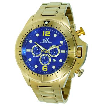 Chronograph Movement, Rotating beze, w/ designed crown protector, AK9041-MG/BU , Retail at $625.00