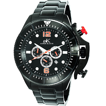 Chronograph Movement, Rotating bezel, w/ designed crown protector, AK9041-MIPB , Retail at $625.00