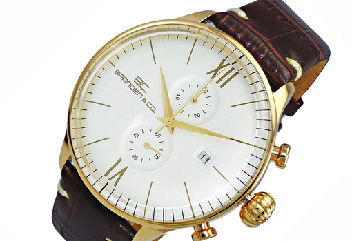 CHRONOGRAPH MOV'T,  DAY-DATE COUNTER, BC6571-MGWT_LBN, RETAIL AT (MSRP: $595.00)