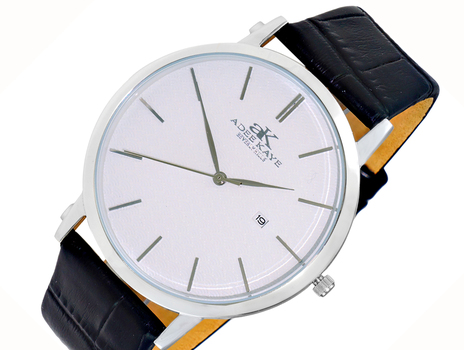 DAY-DATE DIAL, SLIM WATCH, AK3331-MSV, RETAIL AT $350.00