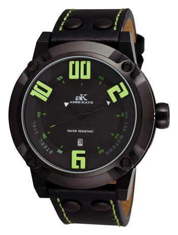 Double layer dial, Genuine Leather band, AK7280-MIPB/GN, RETAIL AT $775.00