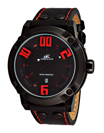 Double layer dial, Genuine Leather band, AK7280-MIPB/RD, RETAIL AT $775.00