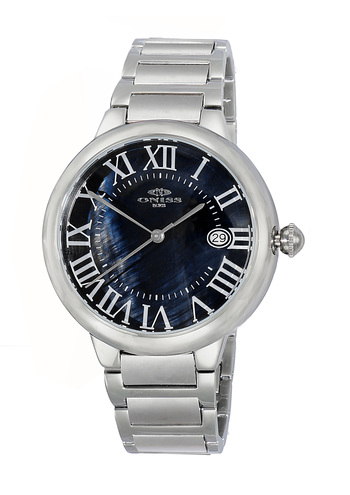 H35 - AUTOMATIC MOVEMENT, DATE - MOP DIAL, ON2222-MBK - RETAIL AT $620.00