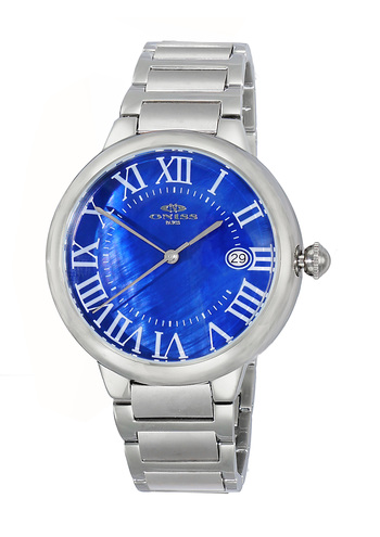 H35 - AUTOMATIC MOVEMENT, DATE - MOP DIAL, ON2222-MBU - RETAIL AT $620.00