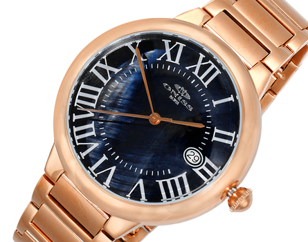 H35 - AUTOMATIC MOVEMENT, DATE - MOP DIAL, ON2222-MRGBK - RETAIL AT $620.00