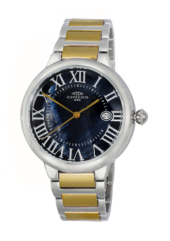 H35 - AUTOMATIC MOVEMENT, DATE - MOP DIAL, ON2222-MTTG - RETAIL AT $620.00