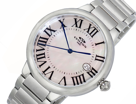 H35 - AUTOMATIC MOVEMENT, DATE - MOP DIAL, ON2222-MWT - RETAIL AT $620.00