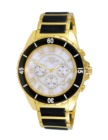 HIGH TECH CERAMIC, CHRONOGRAPH MOVEMENT , ON8500-33 (MGWT), RETAIL AT $375.00