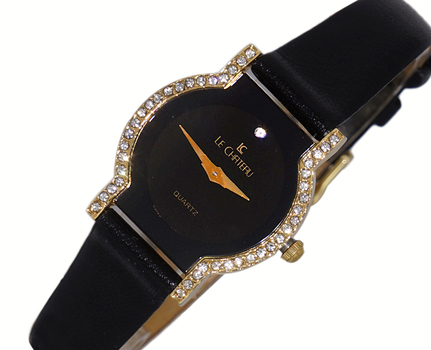 Le Chateau Ladies Watch - 2 Hands Dial (Brand New) LC1027-LGC - RETAIL at  $200.00
