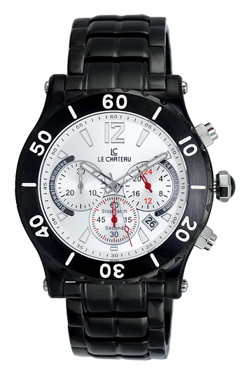 Le Chateau Men's Watch - Chronograph (Brand New) LC-5438-MIP_SV - RETAIL at  $479.00