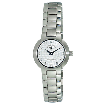 Le Chateau (Polo) Swiss Women's All Silver Tone Stainless Steel Watch, PL1SS-LSV - (Retail at $445.00)