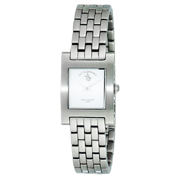Le Chateau (Polo) Women's Swiss 2 Hand Satin Finish All Stainless Steel Watch, Retail at  (MSRP $:495.00)