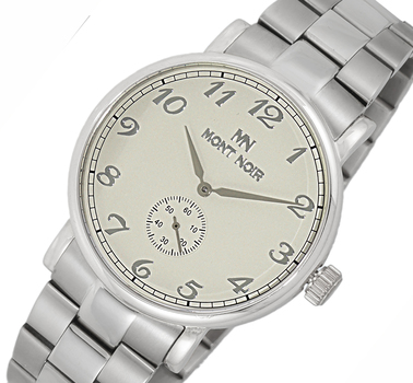LeChateau - AUTOMATIC 20 JEWELS MOVEMENT, MINERAL CRYSTAL, STAINLESS STEEL BAND, MN9061-MBSV, RETAIL AT $695.00