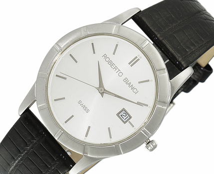 LECHATEAU BIANCI MEN'S , SUNRAY DATE-DIAL , LCRB5001, RETAIL AT $399.00.