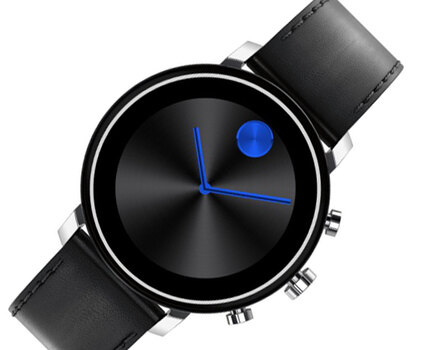 Lechateau Connect 2.0 42mm Stainless Steel Smartwatch, LCMV3660028