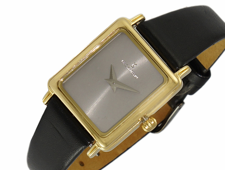 LECHATEAU, GREY DIAL, STAINLESS STEEL GOLDTONE,  LC2200-GGY -  RETAIL AT $299.00