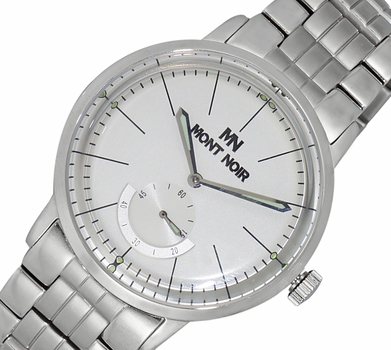 LECHATEAU (MONT NOIR) - 21 JEWELS AUTOMATIC MECHANICAL , DOME CRYSTAL , MN9044-MBSV  RETAIL AT $600.00