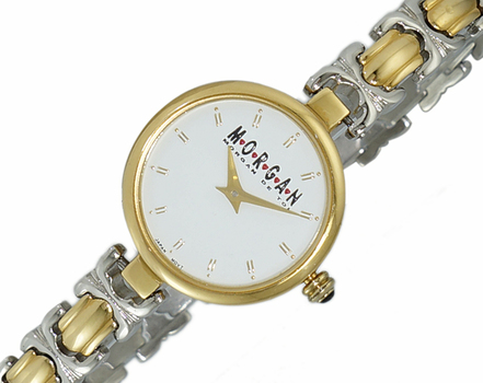 LECHATEAU - MORGAN STAINLESS STEEL , WHITE DIAL, LC2033-L2TWT-  RETAIL AT $299.00