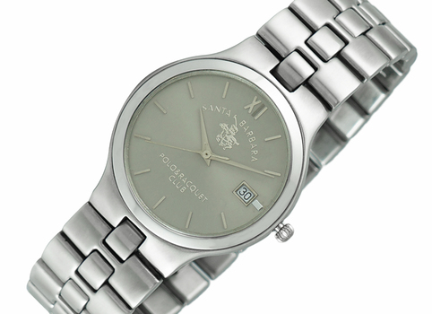 LeChateau  STEEL CASE AND BAND,  LCPL00001-GY - RETAIL AT $299.00