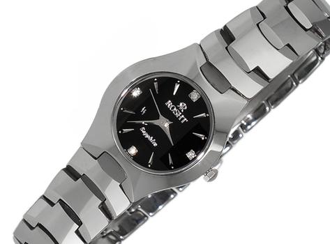 LeChateau Tungsten, Diamond Dial Women's,  LCR0006-LBK - Retail at (MSRP: $399.00)