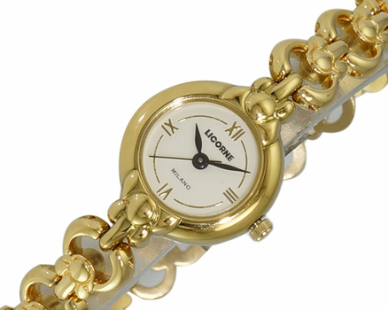LeChateau Women's Gold Tone, Stainless Steel  LC0007-LGG - Retail at (MSRP: $299.00)